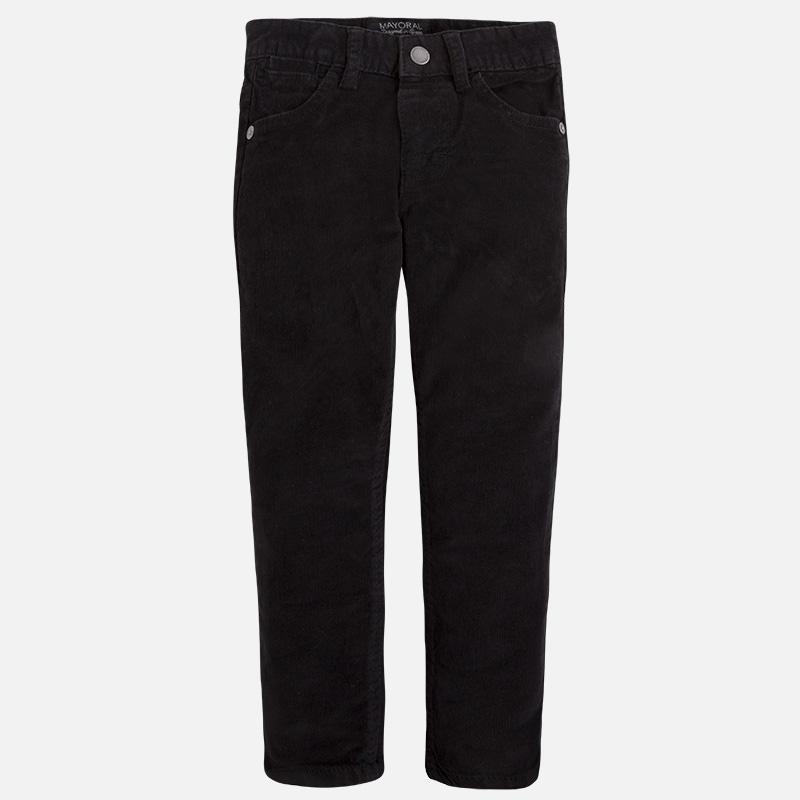 chlapecké manšestrové kalhoty slim fit  409395d00d