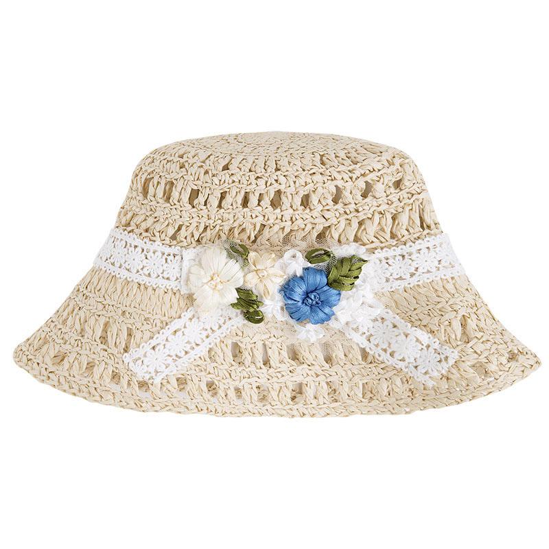 Dívčí pletený klobouk Mayoral  4858b25104